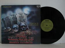 Fabio Frizzi PAURA NELLA CITTA DEI MORTI VIVENTI LP Orig1982 1stPress OST Goblin