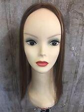 "KOSHER BY YAFFA WIGS 100% European processed human hair mini topper 18"" #14/8"