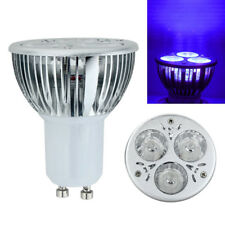 High Power 3W 3x1W GU10 UV Ultraviolet lila Licht LED-Lampe Lampe 85-265V
