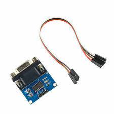 MAX3232 RS232 Serial Port To TTL Converter Module DB9 Connector With Cable GT IA
