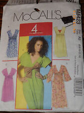 McCall's 5423 Pattern Pullover Knit Dress/Sash Sz 6 8 10 12 14 Uncut
