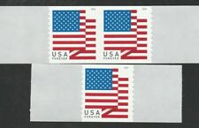 US FLAG 2018 STARS AND STRIPES #5260 APU SINGLE + PAIR COIL MNH VF FOREVER STAMP