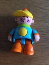"""TOLO """"FIRST FRIENDS"""" POSABLE BOY WITH CLICK + SQUEAK 4.5"""" TALL"""