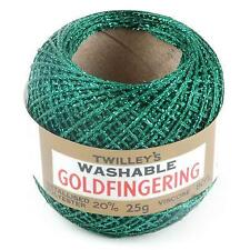 Twilleys Goldfingering Crochet Thread 25g - Green 51