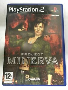 Project Minerva Professional Playstation 2 PS2 Game FREE P&P