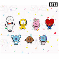 BTS BT21 Official Authentic Good Swing Pin Badge + Tracking Number