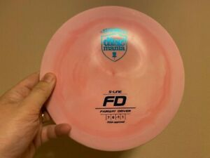 Discmania S-Line FD -- 172g -- Very Swirly -- Disc Golf -- Great Condition