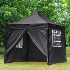 Waterproof 2.5x2.5M Pop Up Gazebo Garden Marquee Garden Awning Party Tent Canopy