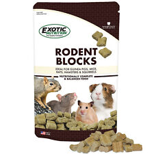 Rodent Blocks (1 lb.) - Food for Rats, Mice, Squirrels, Degus & Other Rodents