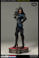 G.I. JOE Baroness Classic Version Premium Format Sideshow Store Exclusive Statue