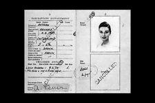 Enmarcado impresión-Audrey Hepburn's Original Suizo (Imagen Arte Cartel de pasaporte)