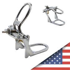Dental Lab Low Arch Denture Chrome Articulator Chrome Plated Metal Instrument US