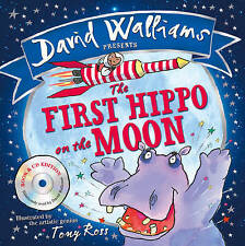 The First Hippo on the Moon by David Walliams (Mixed media product, 2015)