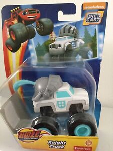 The WHITE KNIGHT 🛡: Blaze and the Monster Machines. Fisher-Price Die-Cast. NEW