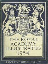 Royal Academy Illustrated 1954 (150+, B & W images - a great reference)