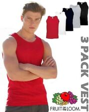 Fruit of the Loom Sleeveless T-Shirts for Men
