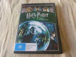 Harry Potter And The Order Of The Phoenix (DVD, 2009) Region 4 Daniel Radcliffe