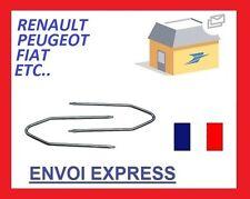 Clé extraction de démontage pour autoradio d'origine PEUGEOT key4 FR
