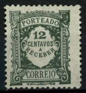 Portugal 1921-7 SG#D582, 12c Grey-Green Postage Due MH #E79320