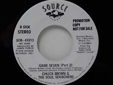 Chuck Brown & the Soul Searchers 45 Game Seven pt. 1 / pt. 2 - Source M-