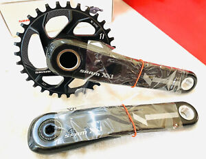 SRAM XX1 Crankset 11 speed GXP 175 mm with 32T chainrings SPD and DRM