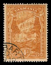 Tasmania • 4d Pictorial - Russell Falls • Official 1901 CTO for Presentation Set
