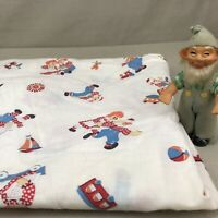 Raggedy Ann & Andy Vintage Fitted Baby Bed Crib Sheet