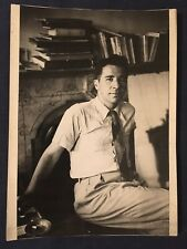 Lot of 4: Cartier-Bresson Photograph of Alfred Kazin unsigned 1946 w 3 others