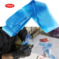 100Pcs Cover Bags for Tattoo Machine Clip Cord Sleeves Clean Safety Supply v