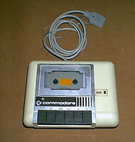 Commodore DATASSETTE Cassette Software Player / Recorder for Vintage Computers