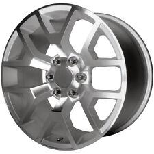"OE Performance 169S 22x9 6x5.5"" +27mm Silver Wheel Rim 22"" Inch"