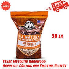 Pit Boss Texas Mesquite Hardwood Barbecue Grilling & Smoking Pellets - 20 lb Bag