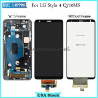 New Replacement LCD Display Touch Screen Digitizer ± Frame For LG Stylo 4 Q710MS