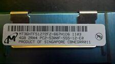 20 x DDR2 4Gb 2Rx4 PC2-5300F Micron / HP 466436-061