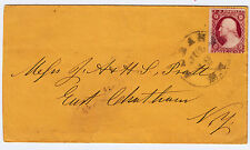 """#26A-3 Cents 1857, 98L10i, """"ALBANY JUL 19 N.Y."""" CDS to East Chatham NY"""
