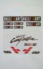 RALLI ART STICKER pack small Car Window Bumper Vinyl  Decal x13 set