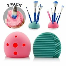 Soporte Organizador Limpiador De Brochas Y Pinceles De Maquillaje Silicona