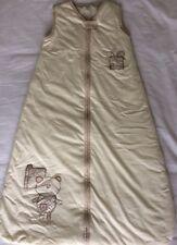 Mamas & Papas Dreampod Babies Cream Sleep Bag 6-18 Months 2.5 Tog Cotton Bear
