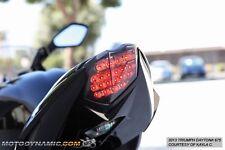 13-17 Triumph Daytona 675 675R Street Triple R Integrated LED Tail Light Smoked