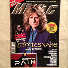 METAL MANIAC 3/2011 WHITESNAKE BLOODY ROOTS PAIN DEICIDE GARY MOORE DEVILDRIVER