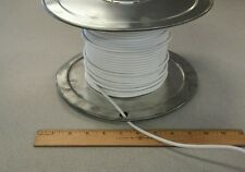 ( 277 FT Spool ) General Cable 3772 ( White ) 30Awg Coax Cable Wire 1/7C
