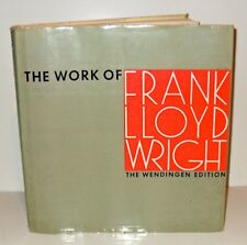 The Work of Frank Lloyd Wright-The Wendingen Edition 1965, Illustrated