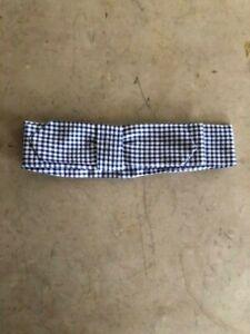 Cravat, Blue/White Plaid Cotton, Civil War Necktie