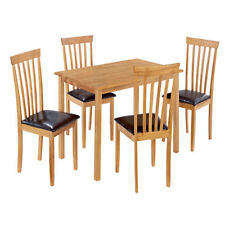 Oak Living Room Unbranded Up to 4 Seats Table & Chair Sets