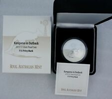 2012 Australia Kangaroo in Outback $1 Silver Proof Coin F15-Privy RAM FREE S/H