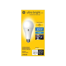GE ultrabright 150 watt equivalent A23 Daylight Dimmable LED light bulb