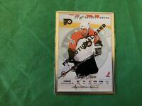 ERIC LINDROS LEAF STEEL 1996-1997 *PROMO CARD* Philadelphia Flyers MINT