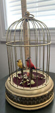 Vintage Singing Bird Cage Music box, Made in West Germany Rare