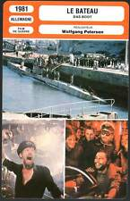 FICHE CINEMA : LE BATEAU - Prochnow,Petersen 1981 - Das Boot/The Boat