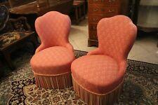 Paire de fauteuils crapaud de style Napoléon III